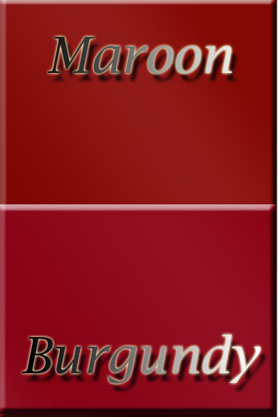 Color Maroon Burgundy Color Psychology Personality Meaning