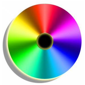 Color Wheel Disk