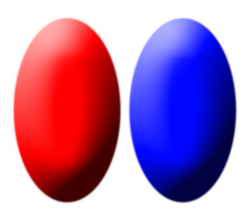 Depth Perception Test, Red & Blue