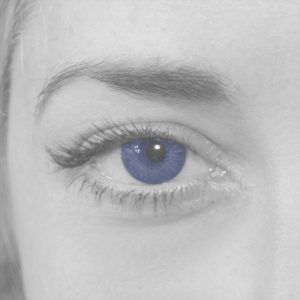 Blue eye color personality