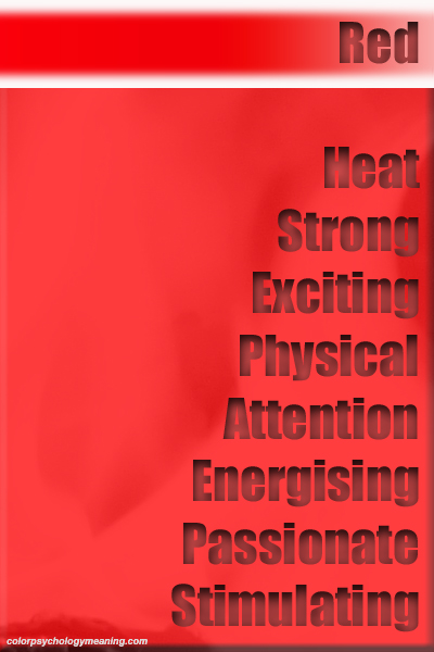 Red Color Meaning & Personality