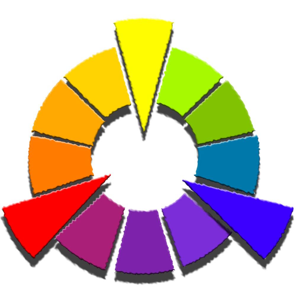 Contemporary RYB Color Wheel.