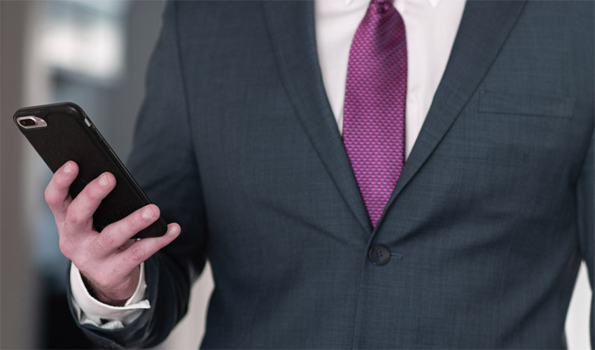 Purple Tie Color Meaning